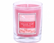 Holland Tulip Festival - 3 oz votive in glass container