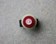 Ring, Pink, Red, and Light Green Buttons, Sizeable