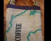 Coffee Bag Market Bag Shopping Bag Resuable Tote