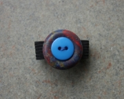 Ring, Blue, Multi Color Button, Sizeable