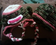 Camo Sock Monkey Hat