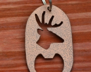 Big Buck Key Chain Bottle Opener