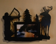 Bow Hunter 4x6 Picture Frame Wall Mount