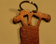 Golf Bag Bottle Opener key Chain