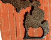 Michigan Bottle Opener and Key Chain