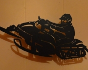 Snowmobiler Wall Art