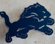 Detroit Lion Logo Wall Hanging